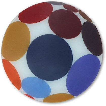 Spots Glass Table Saver