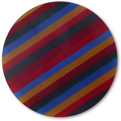 Stripes Glass Table Saver