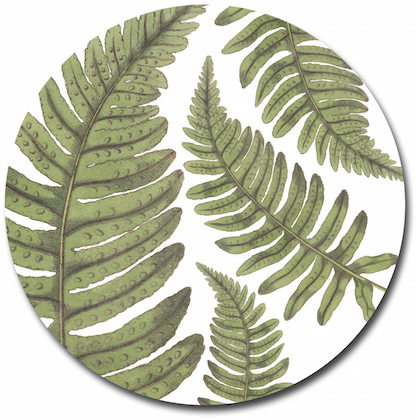 Fern Glass Table Saver